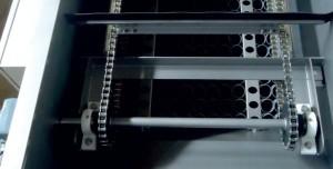 Скребковый механизм флотатора