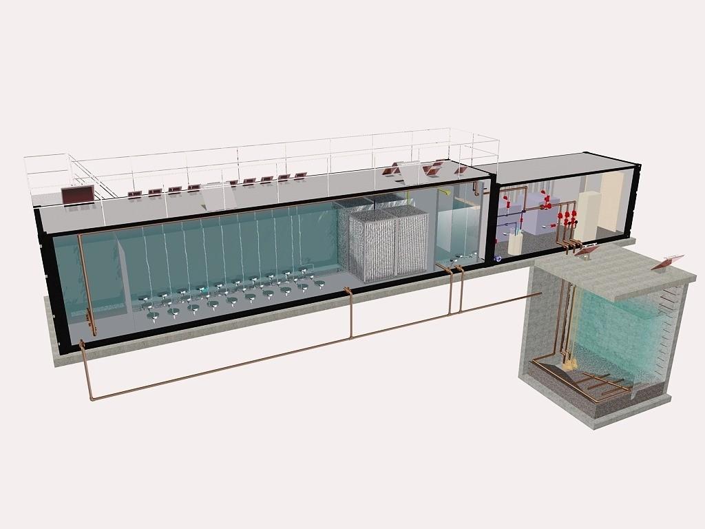 Очистные сооружения в контейнерном исполнении
